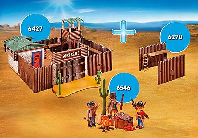 PM1911A_product_detail/PM1911A 6427 Fort Brave + 6270 Palissades d'extension + 6546 Bandits du Far West