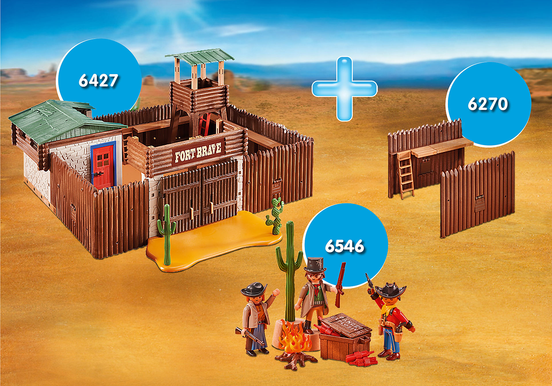 http://media.playmobil.com/i/playmobil/PM1911A_product_detail/Pack Promocional Fuerte del Oeste
