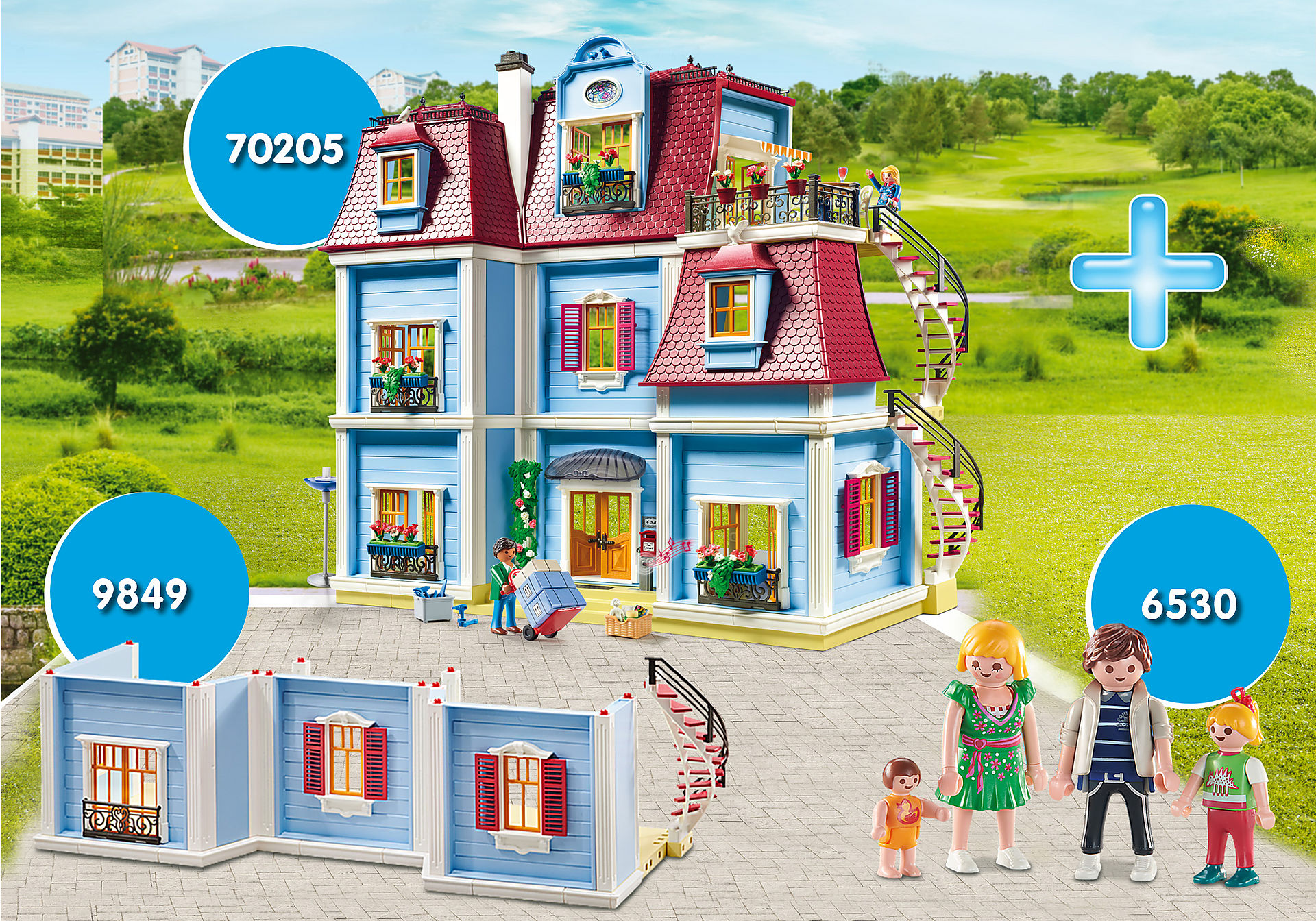 PM1911E Bundle Large Dollhouse zoom image1
