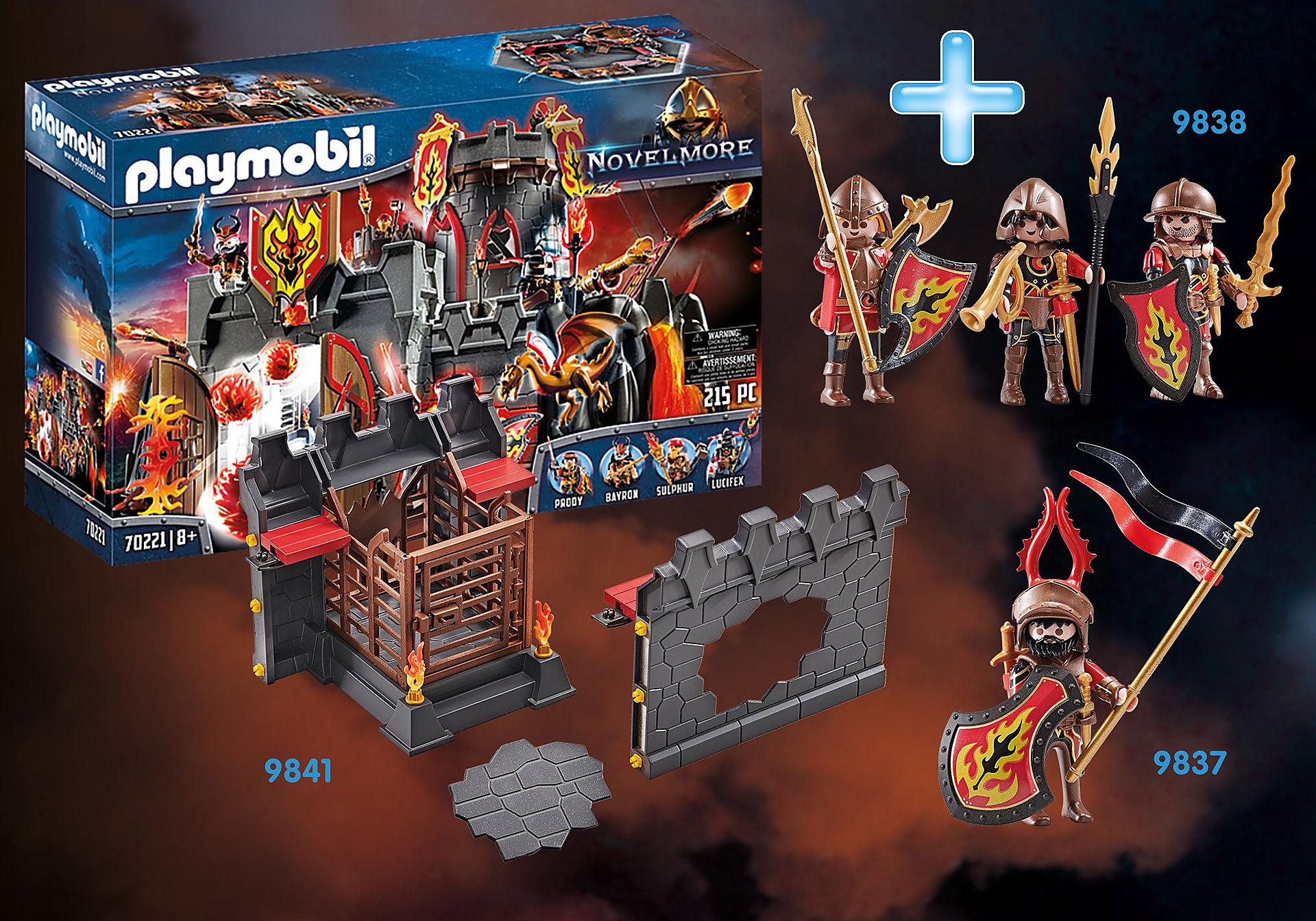 PM1911N Pack Promocional Fortaleza de los Bandidos de Burnham zoom image1
