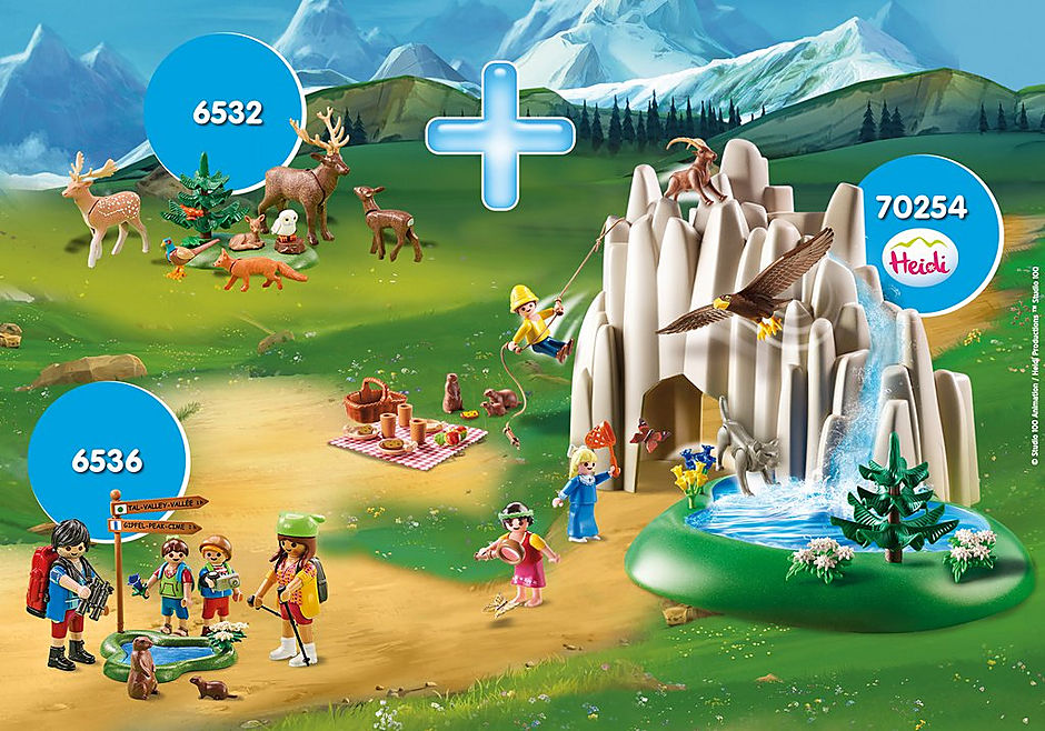 PM2001K Pack Promocional Lago con Heidi, Pedro y Clara detail image 1
