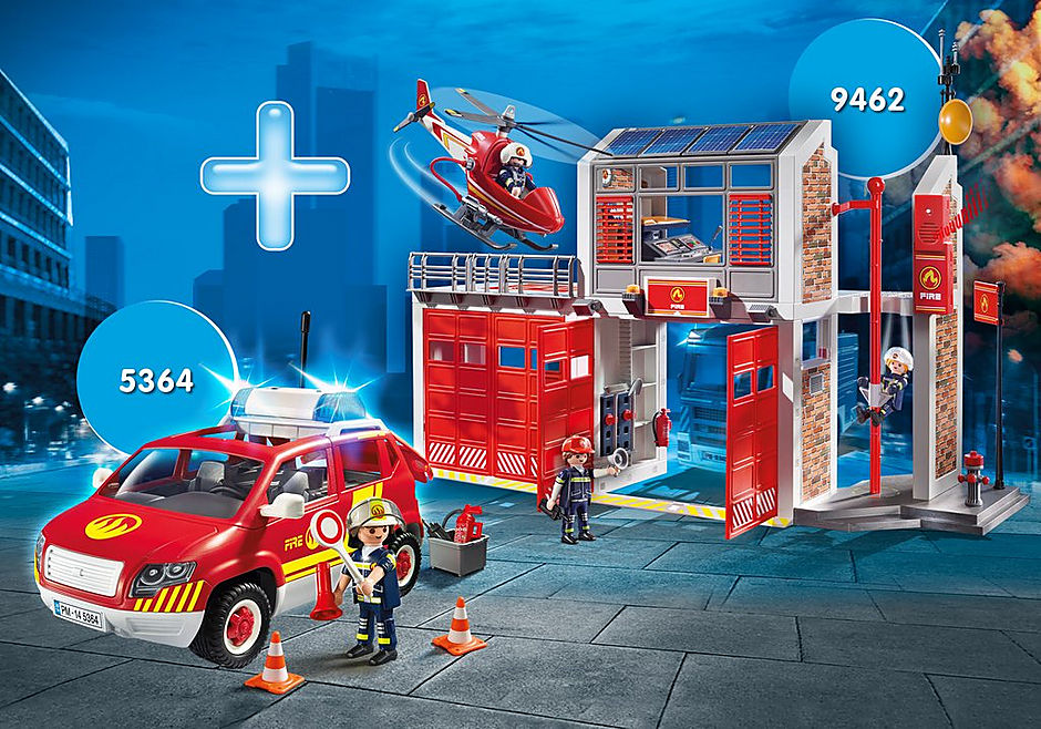 PM2002E Fire Station Bundle detail image 1