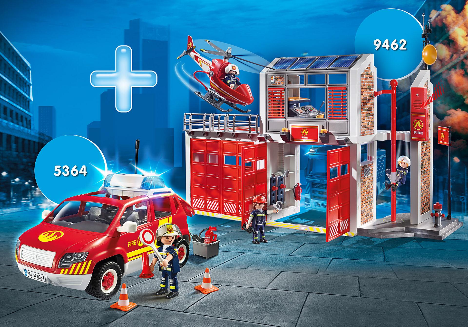 PM2002E Fire Station Bundle zoom image1