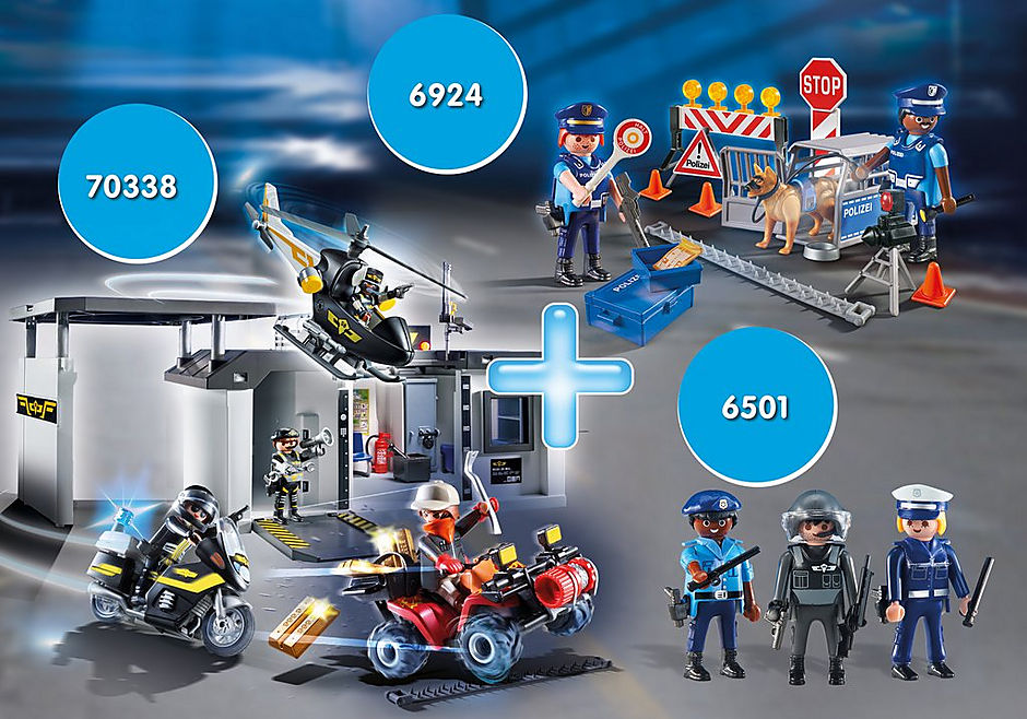 PM2002P Police Bundle II detail image 1