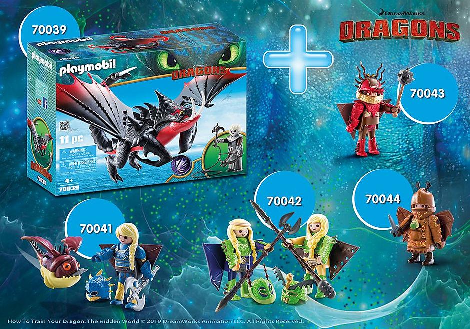 PM2005F Dragons detail image 1