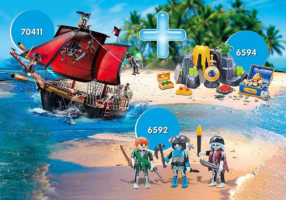 PM2009C Maxiplaymo Pirates I detail image 1
