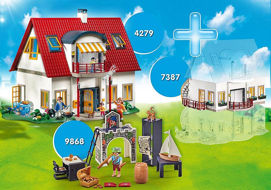 PM2009I Pack Promocional Casa Moderna + Extensão e Quarto Piratas  detail image 1