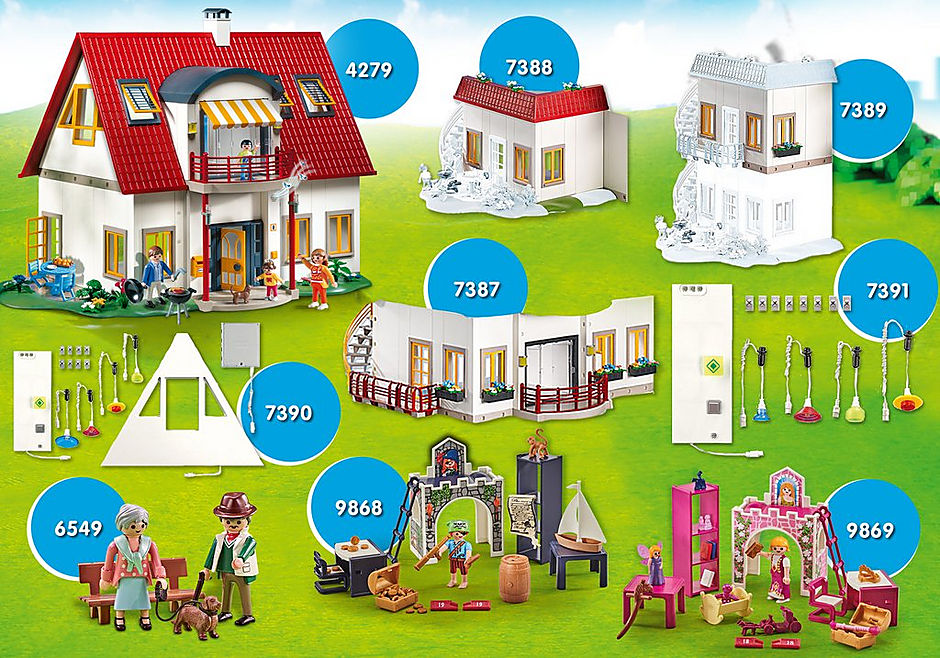 PM2009J MAXIPLAYMO XXL Villa moderne detail image 1