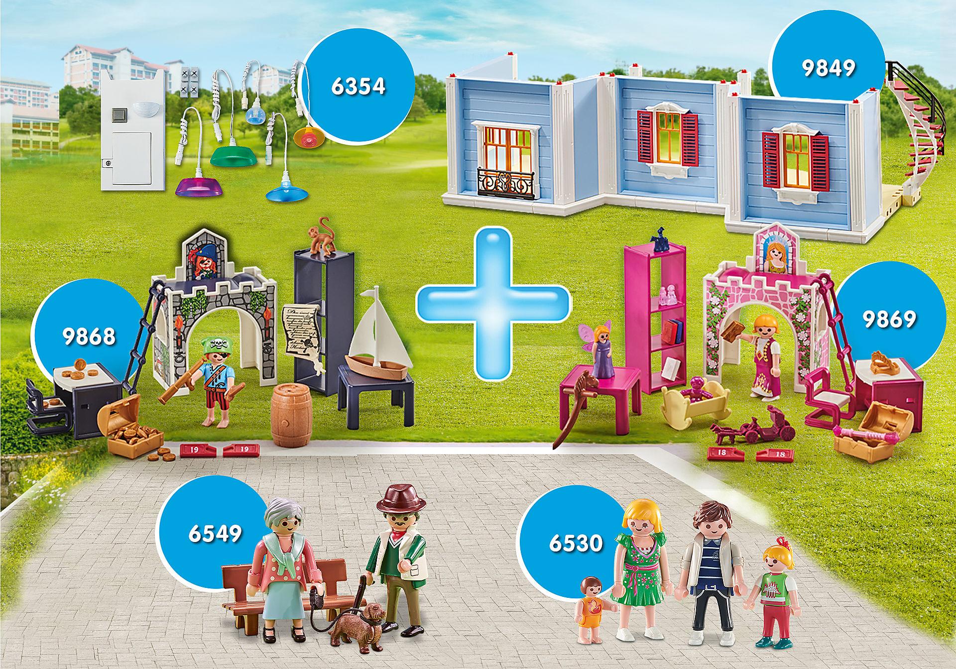 PM2009K Pack Promocional Extensão para a Grande Casa de Bonecas  zoom image1