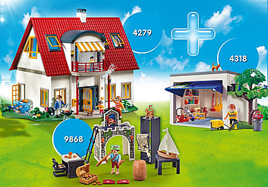 PM2010E Pack Promocional Casa Moderna + Garaje