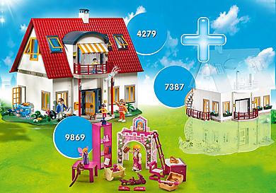 PM2010F Csomag Lakóház + Emelet bővítmény