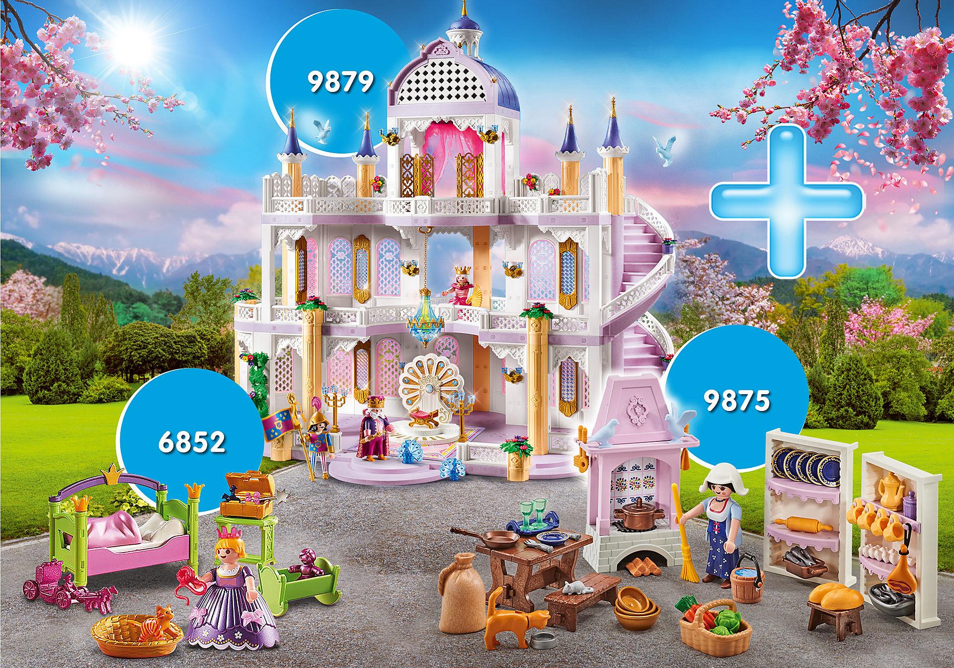 PM2010G Pack Promocional Castillo de Ensueño con Princesa zoom image1