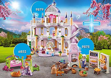 PM2010G Pakiet zamek marzeń z księżniczką