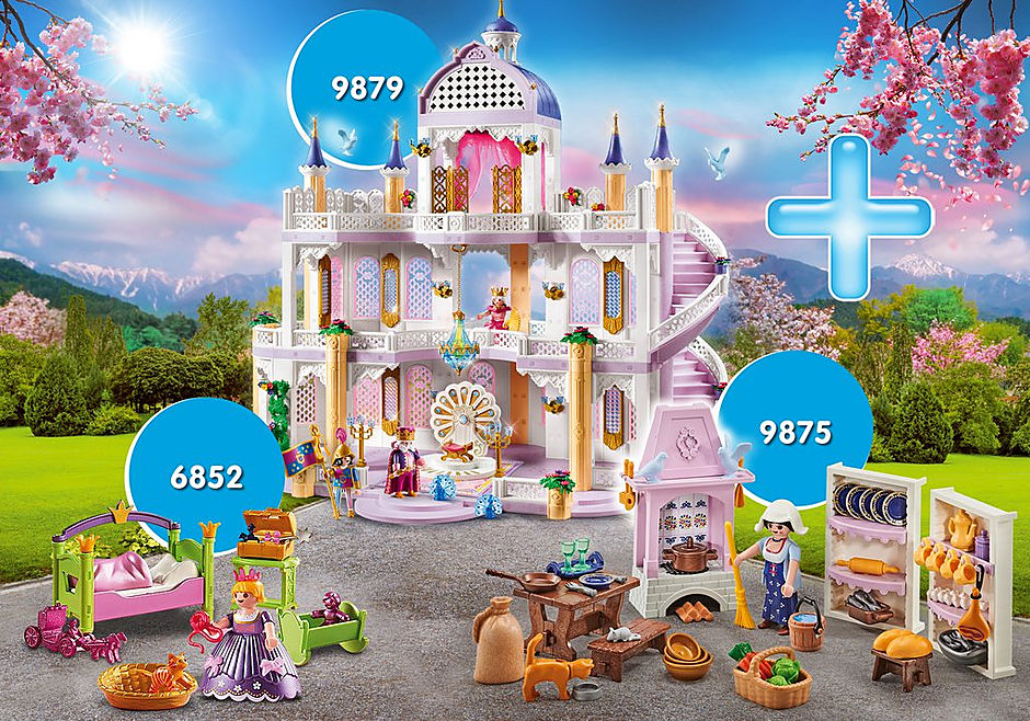 PM2010G Rabatpakke Fairy Tale Castle I detail image 1