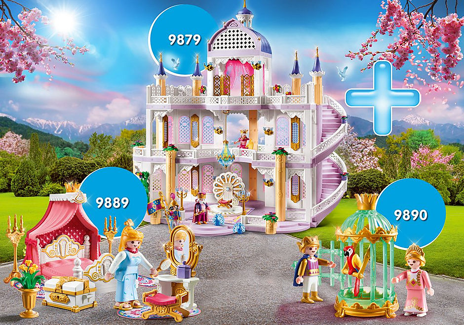 PM2010H Rabattpaket Fairy Tale Castle II detail image 1