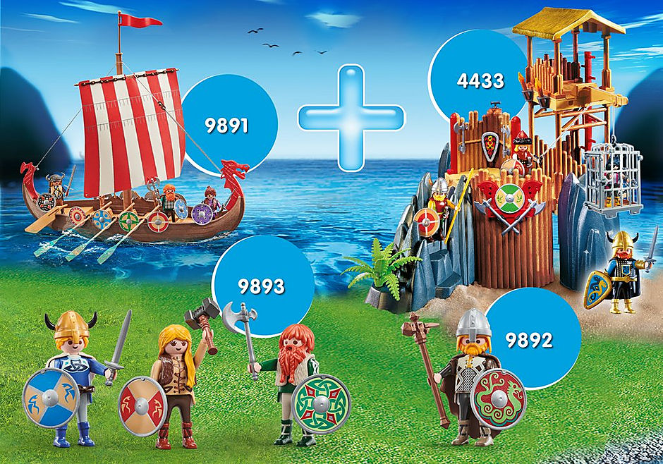 PM2010I Maxiplaymo Vikings detail image 1