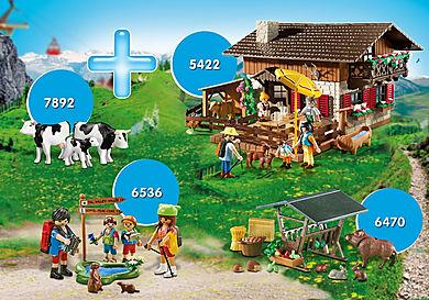 PM2010K Csomag Alpesi kunyhó