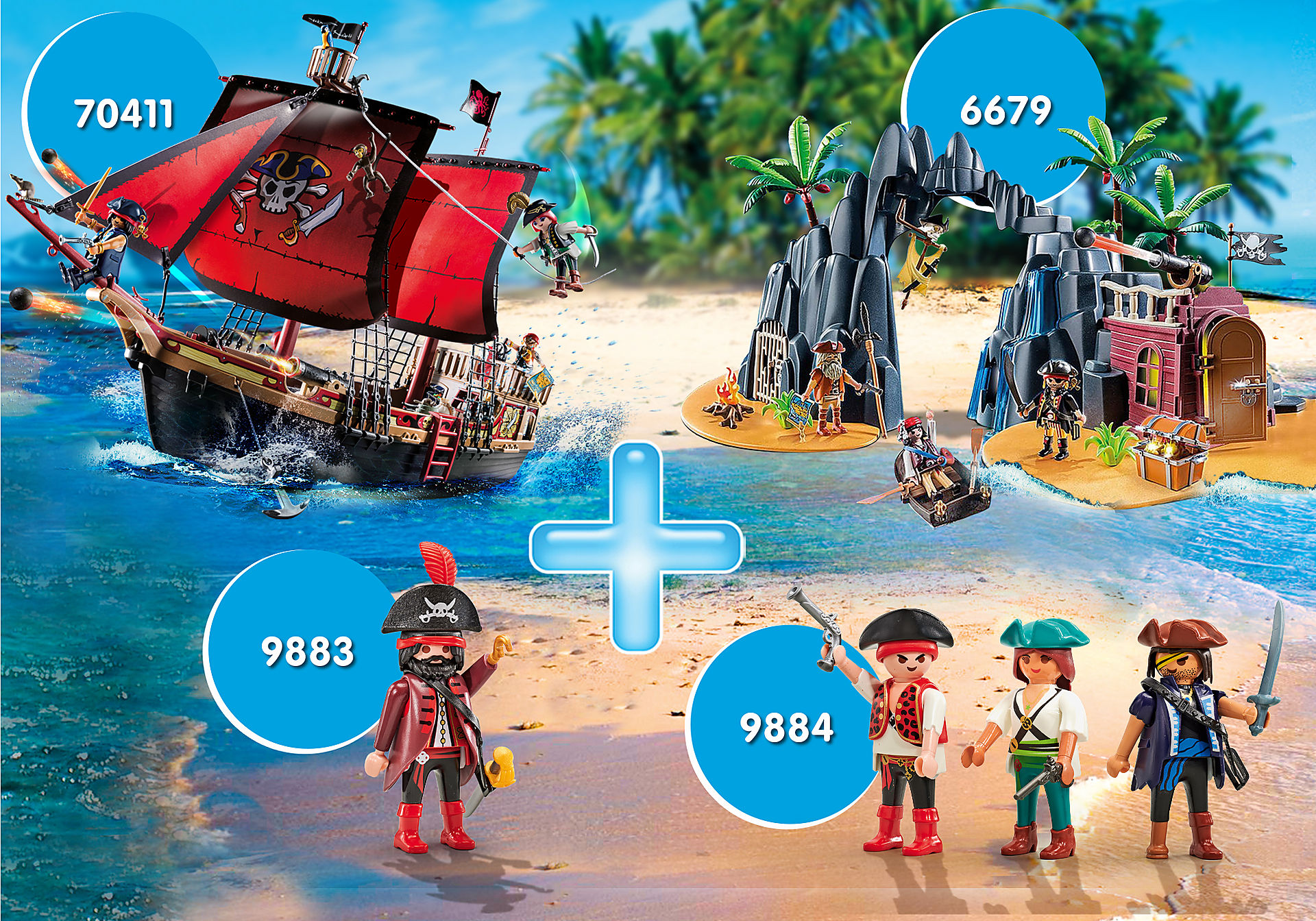 PM2010N Bundle Piraten zoom image1