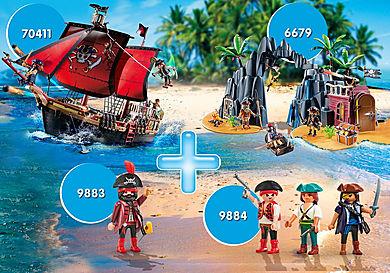 PM2010N Paquet Pirates