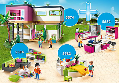 PM2010O Rabattpaket Modern lyxvilla med faciliteter