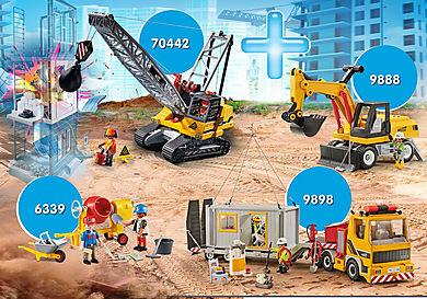 PM2010P Csomag Építkezés