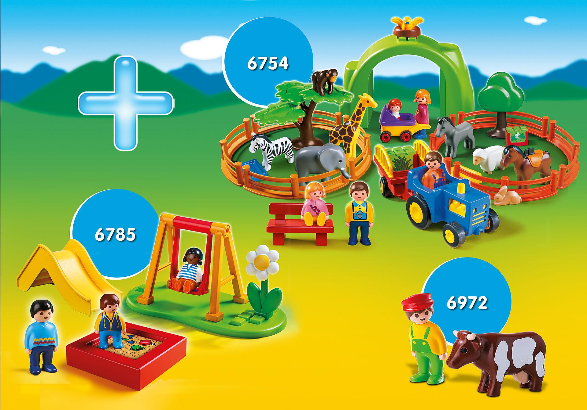 PM2010Q Pack promocional Pré-escolar (PLAYMOBIL 1.2.3)  zoom image1