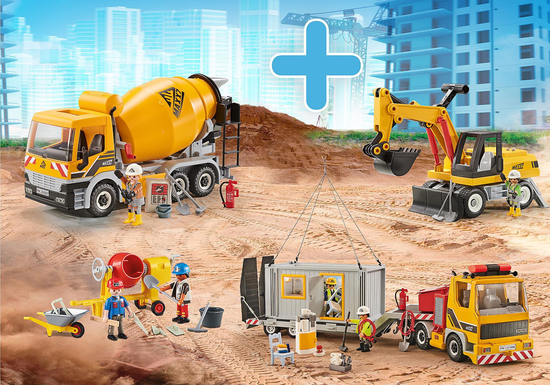 PM2011D Paquet Plaque de construction zoom image1