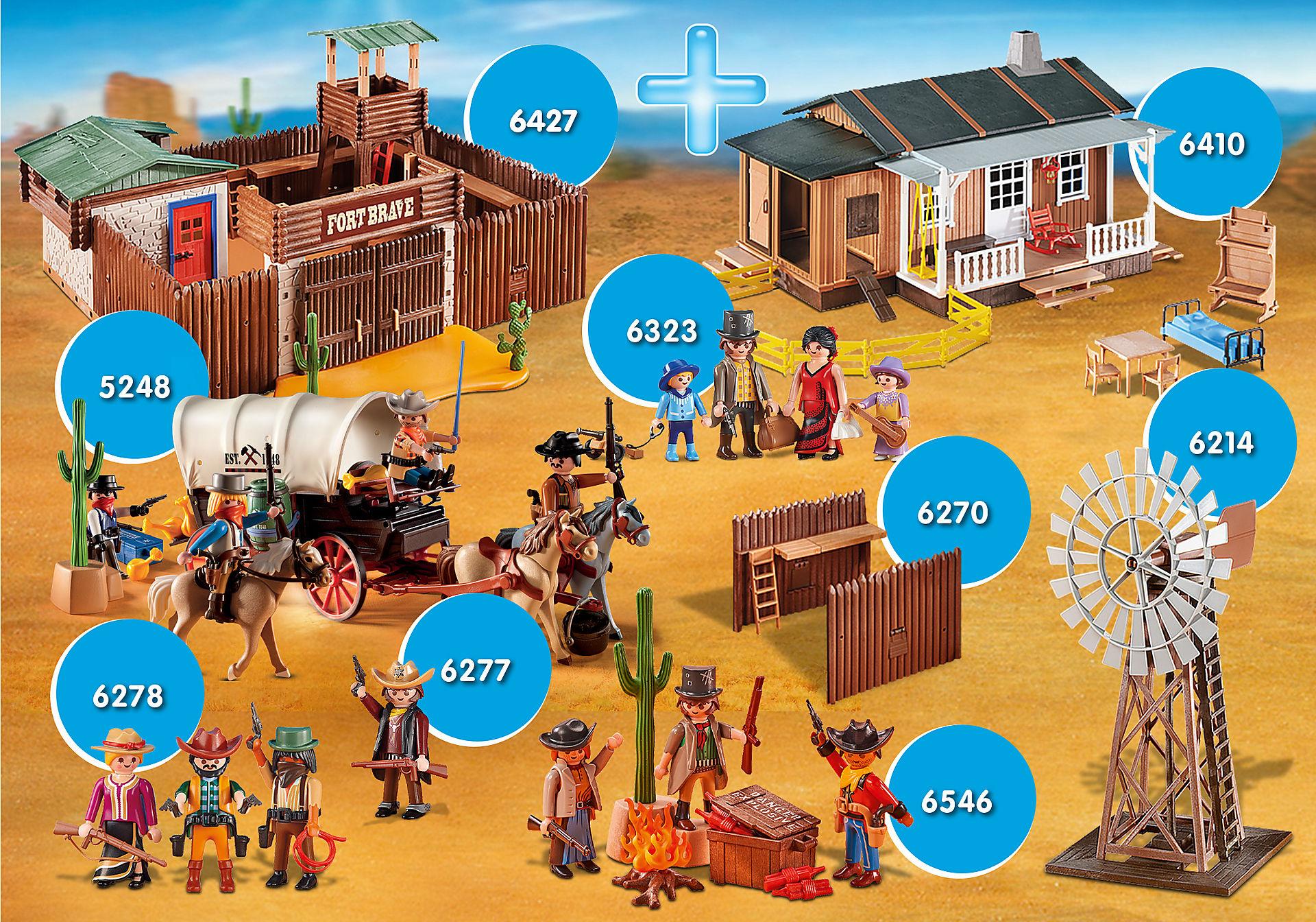 PM2011S Maxiplaymo Western XXL zoom image1
