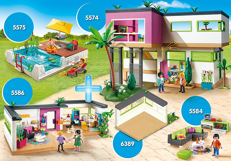 PM2011Z Bundle Luxusvilla + Einrichtungen detail image 1