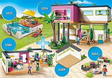 PM2011Z Bundle Luxusvilla + Einrichtungen