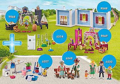 PM2012A Bundle Ergänzung Puppenhaus