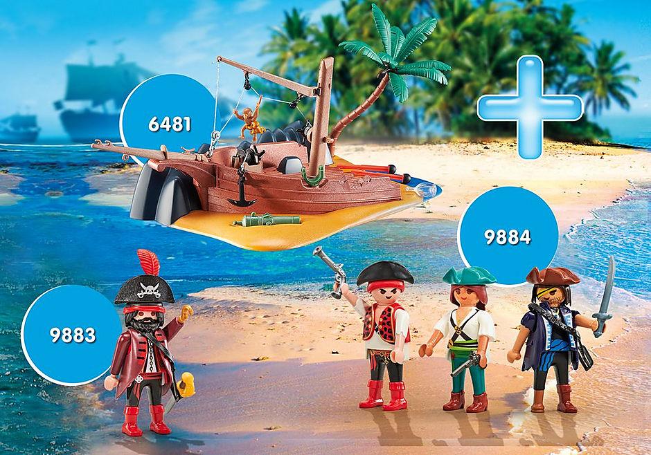 PM2012H Maxiplaymo Pirates et Epave   detail image 1