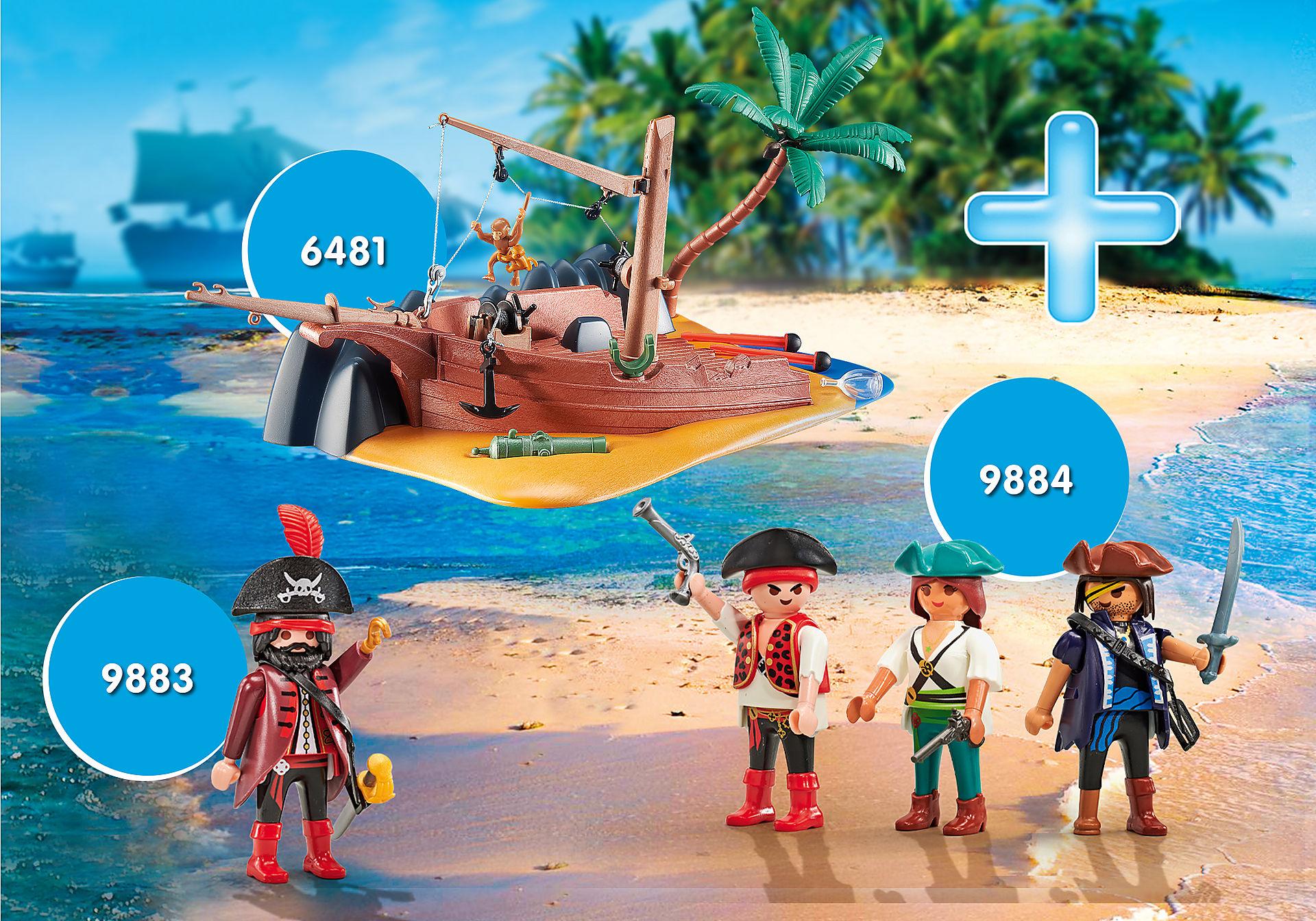 PM2012H Super Promo Pack Complementos Piratas zoom image1