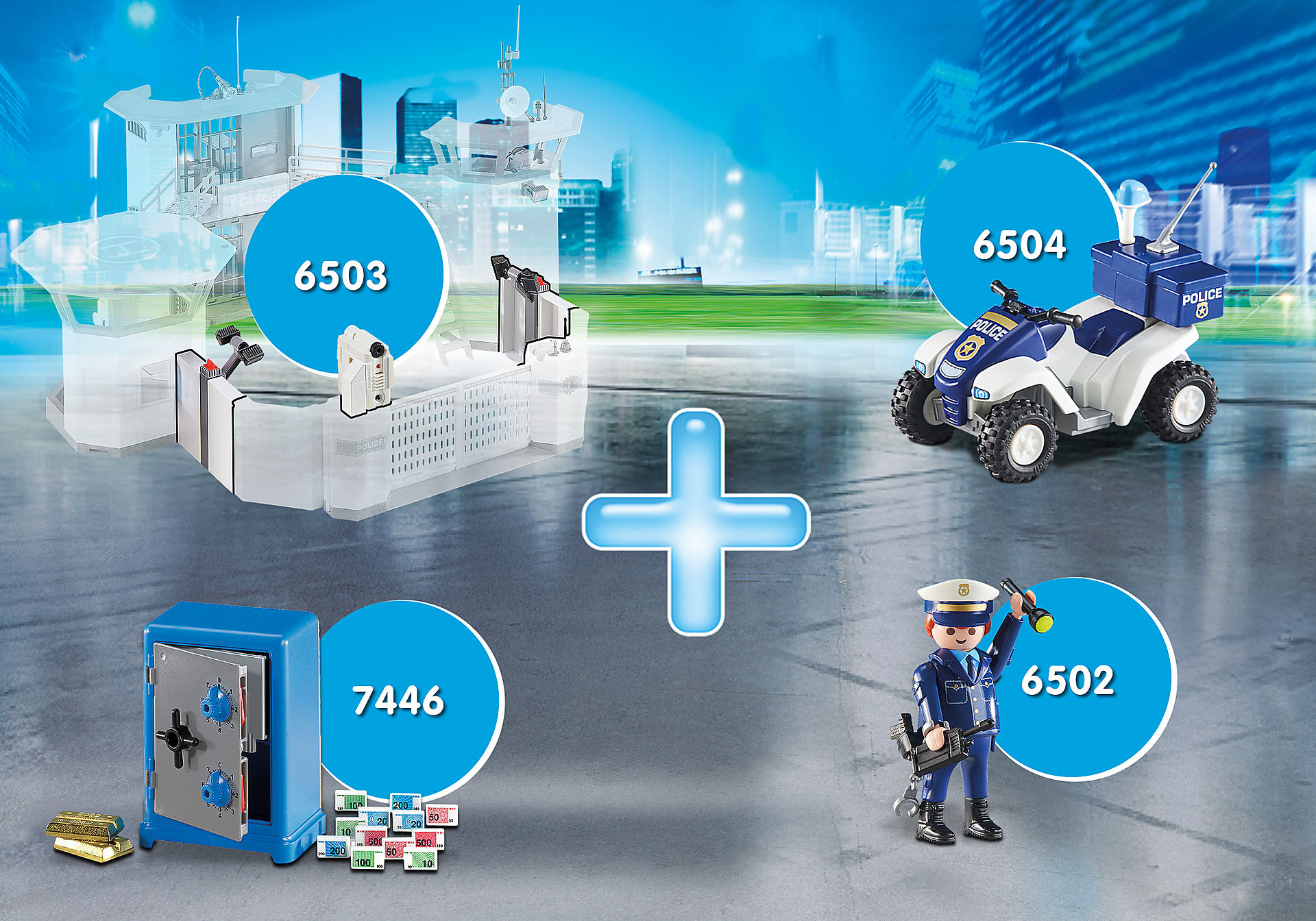 PM2012I Super Promo Pack Complementos Polícia zoom image1