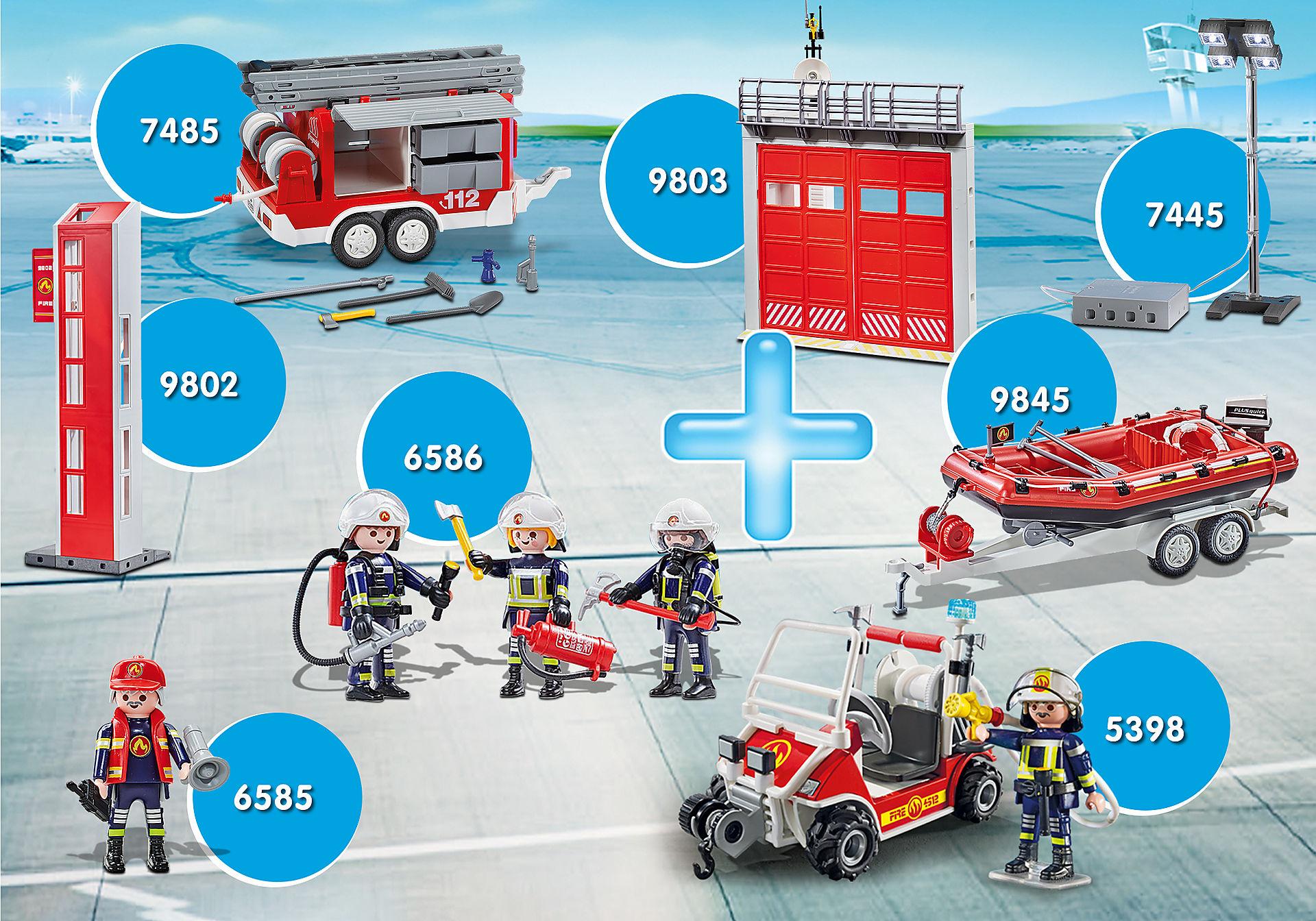 PM2012J Paquet d'extension Pompiers zoom image1
