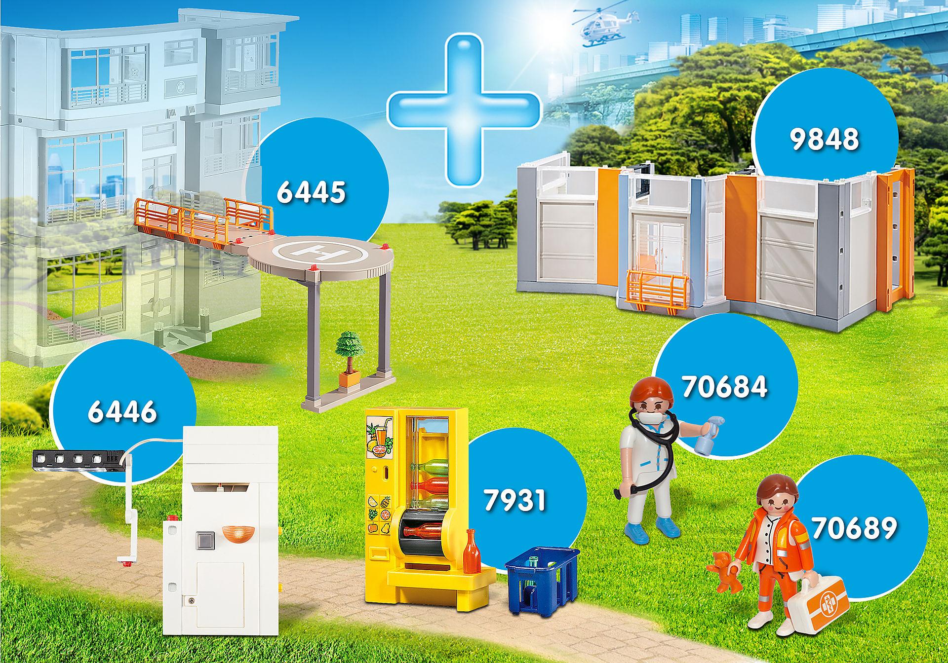 PM2012X Pack Promocional Ampliação Hospital  zoom image1
