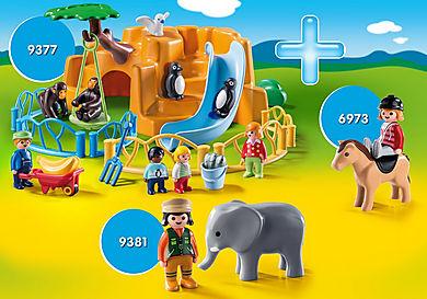 PM2013Q Playmobil 1.2.3 Animals