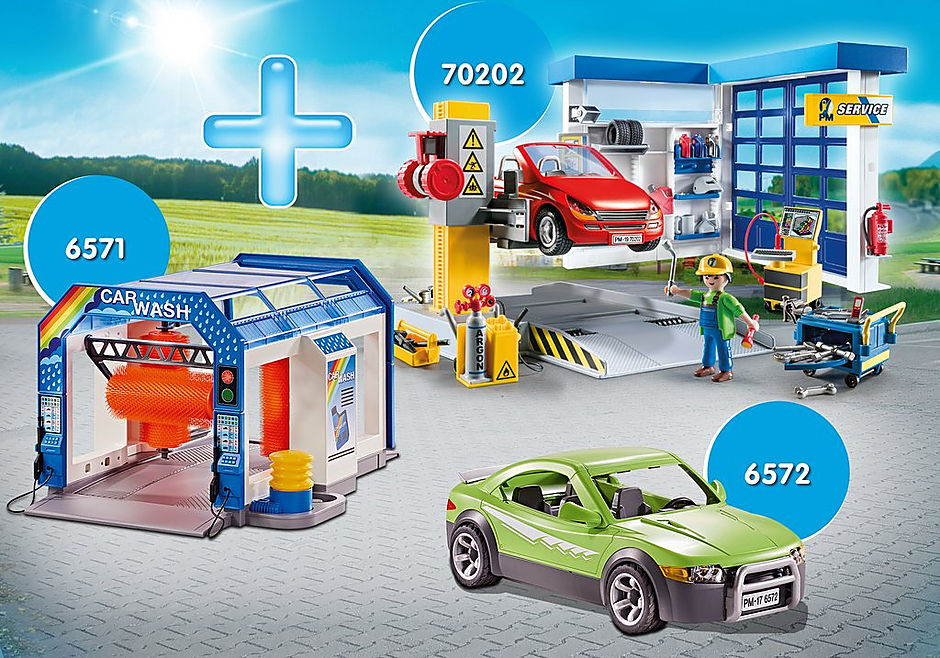 PM2013S Bundle Autowerkstatt detail image 1