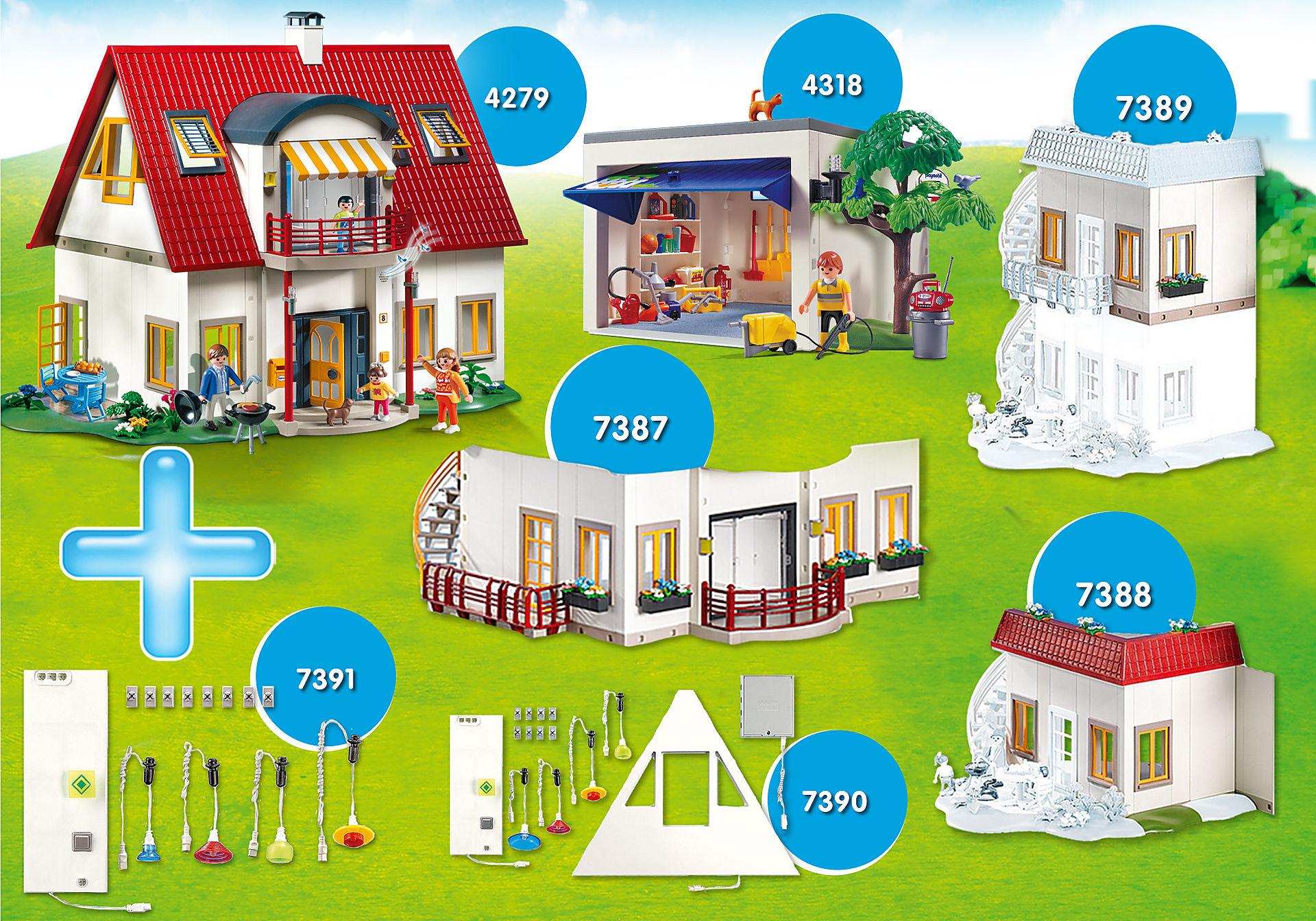 PM2013U Bundle Nuova casa moderna + Espansioni zoom image1