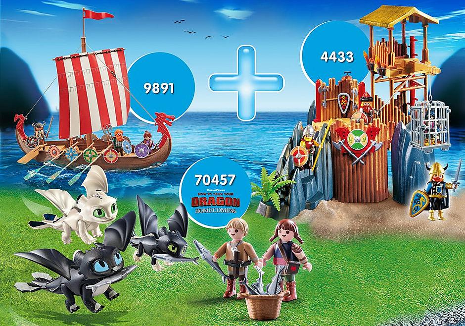 PM2013V Pack Promocional Vikings + Bebés Dragões detail image 1