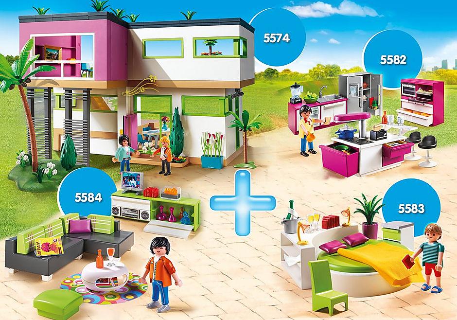 PM2013W Bundle Luxusvilla + Zimmer detail image 1