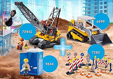 PM2014U Bundle Cantiere Gru + Bulldozer
