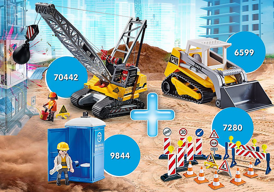 PM2014U Pack Promocional Escavadora detail image 1