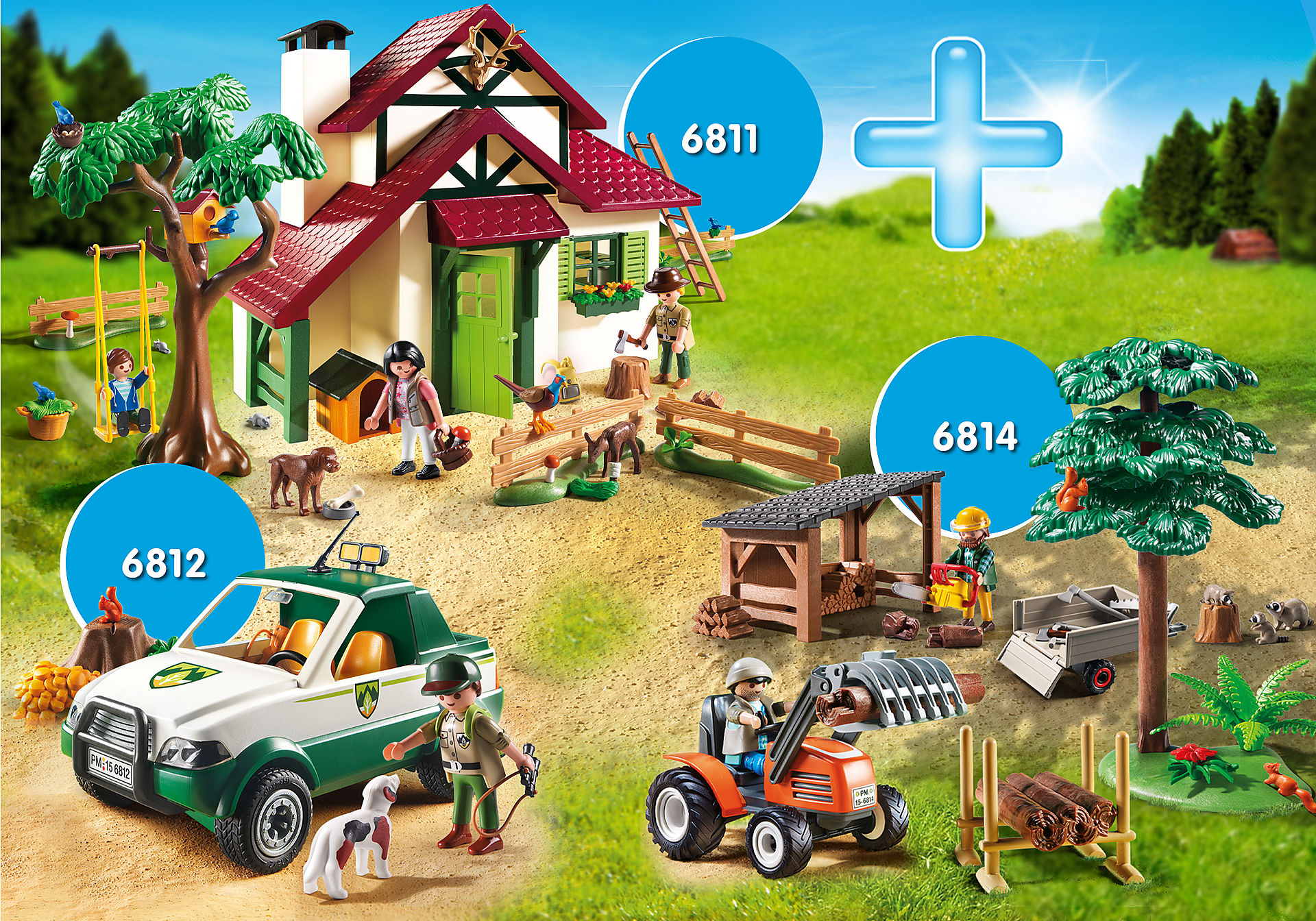 PM2014V Bundle Forsthaus zoom image1