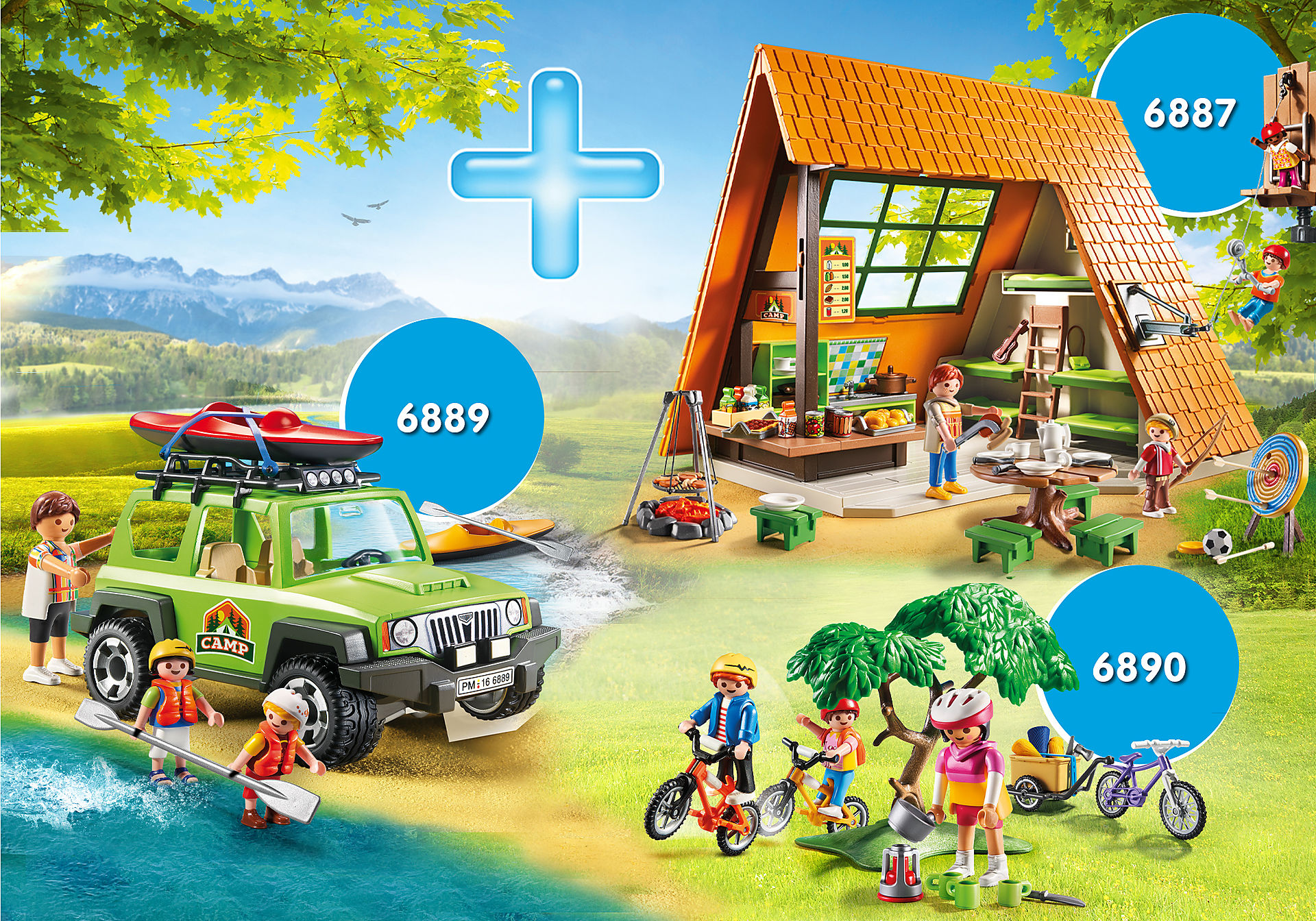 PM2014W Pack Promocional Cabaña de Campamento zoom image1