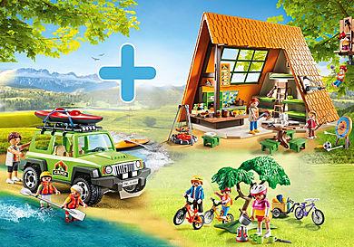 PM2014W Pack Promocional Cabaña de Campamento