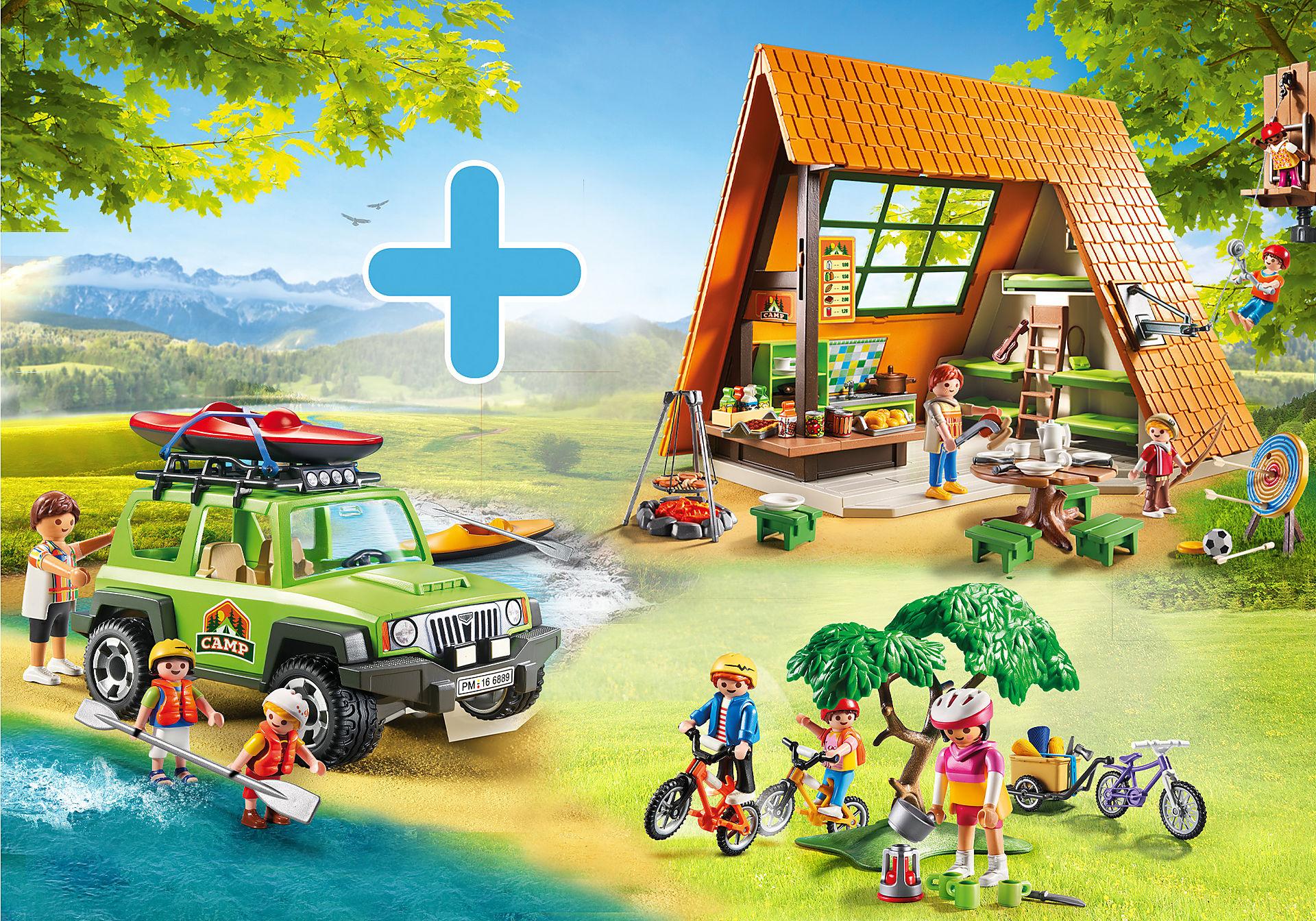PM2014W Pack Promocional Cabana de Acampamento zoom image1