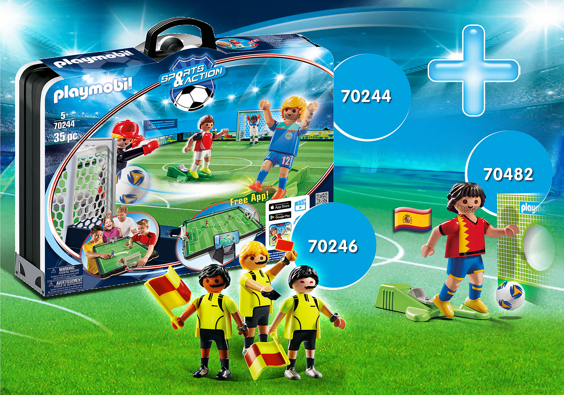 PM2014Z Pack Promocional Fútbol zoom image1