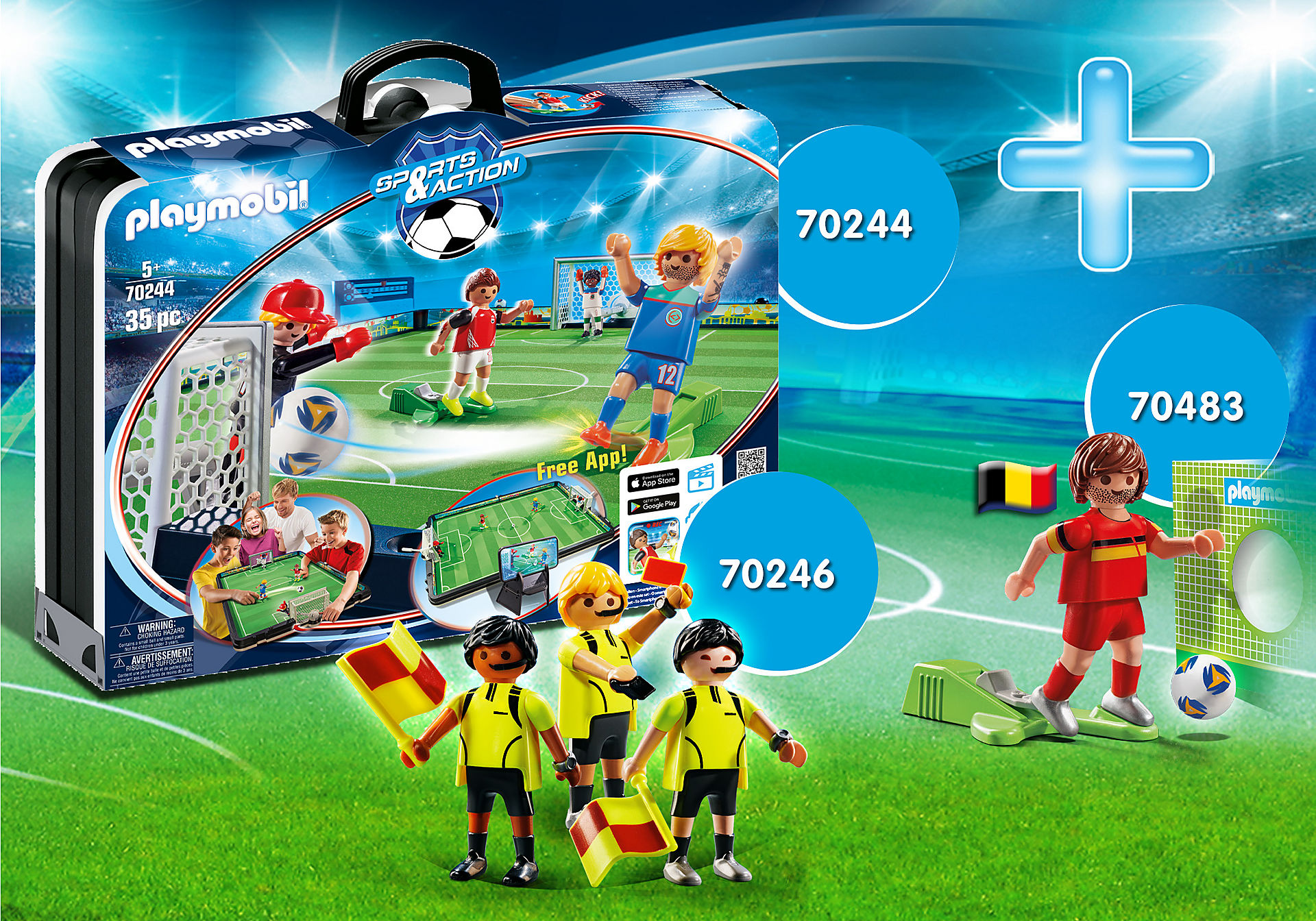 PM2106B Bundle National Player Belgium zoom image1