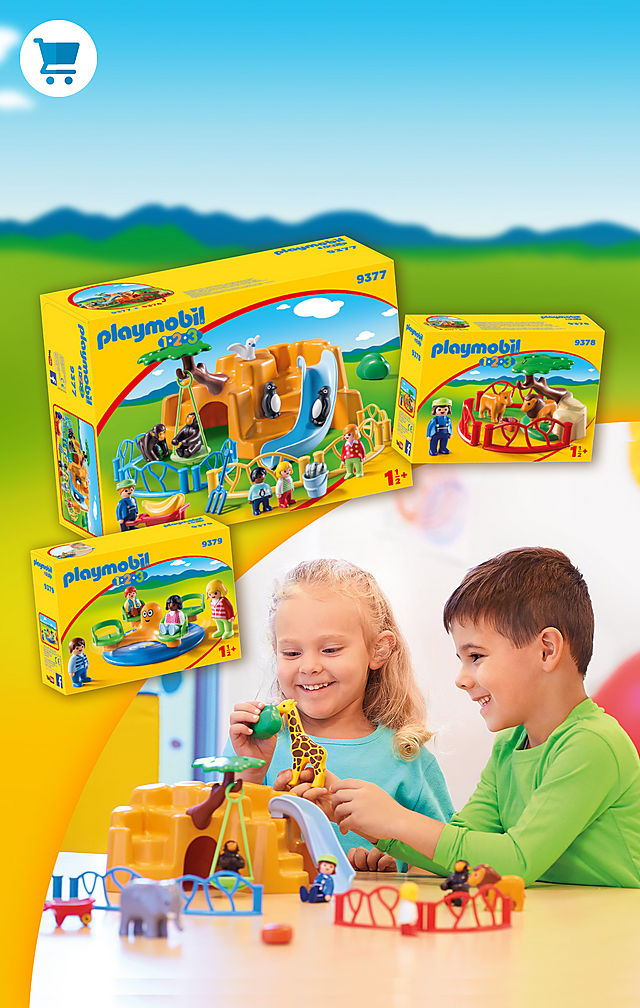 Fantastic playsets for even the little fans.  Learn early with PLAYMOBIL 1.2.3 and discover fun new experiences.